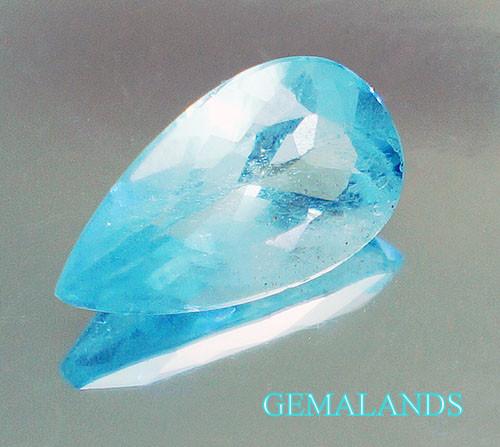 aguamarina Azul natural