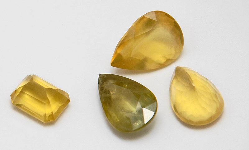 Opalos Amarillos Naturales